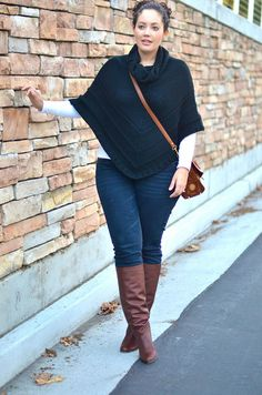 Poncho Perfecto by GirlWithCurves, via Flickr