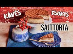 Kávés csokis sajttorta Make It Yourself, Cake, Birthday, Youtube, Food, Birthdays, Kuchen, Essen, Meals