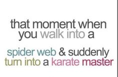 This is me. The karate master.