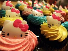 Hello Kitty Cupcakes are so cute ! :)