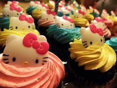 Hello Kitty Cupcakes are so cute ! :)