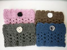 Crochet Boot Cuffs Boot Socks Knitted Cuffs with by Anishop, $8.50