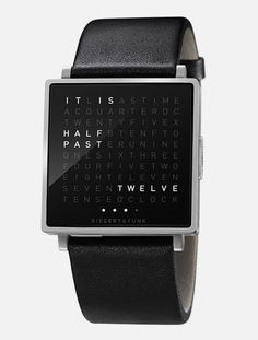 And now they have it in watch form too.