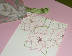 Mel Stampz: Over 50 links for Stitching paper (tutotials & examples)