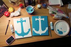 Anchors--perfect for my room