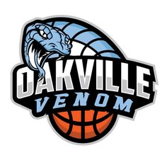 Oakville Ontario Basketball Club logo designed by jk graphix