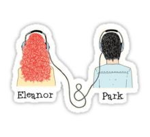 """""""E&P - Eleanor and Park"""" Stickers by thedreamshirt Printable Stickers, Cute Stickers, Planner Stickers, Eleanor E Park, Tumblr Png, Rainbow Rowell, Tumblr Stickers, Aesthetic Stickers, Pin And Patches"""