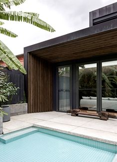 The Local Project Arno Residence By Adele Bates Local Australian Architecture & Design 14 Melbourne Architecture, Australian Architecture, Architecture Design, Dark Timber Flooring, Melbourne Suburbs, Storey Homes, Arno, Architectural Elements, The Locals