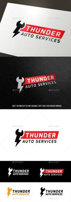 Auto Service - Logo Design Template Vector #logotype Download it here: http://graphicriver.net/item/auto-service/9542883?s_rank=950?ref=nesto