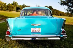 Engagement Pictures   57' Chevy   Kacie Boss Toby Jones  :)