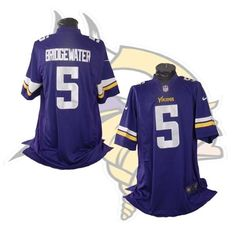 #5 Teddy Bridgewater Minnesota Vikings Purple XL Nike Jersey #Nike #MinnesotaVikings