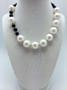 beautiful pear necklace 1015pb