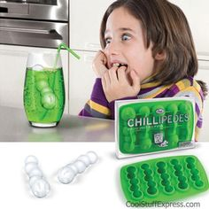 Centipede Shaped Ice Cube Tray By Fred and Friends