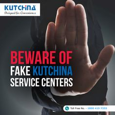 Stay smart and alert! #SayNoToFake.  Visit: http://www.kutchina.com/home/support to get help from our authorised service centers. You can also call on this number: 18004197333. #Kutchina