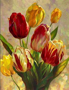 Resultado de imagen para laminas de tulipanes