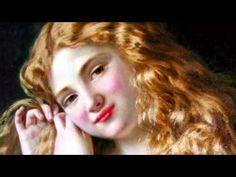"""Sophie Anderson - Música Brahms """"Canción de cuna"""""""