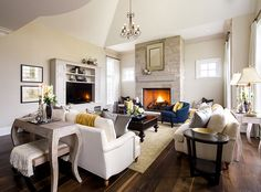 Family room furniture layout and color palette. Designed by Jane Lockhart. Family Room Furniture, Living Room Furniture Layout, Living Room Designs, Home Furniture, Office Furniture, Bedroom Furniture, Furniture Buyers, Deco Furniture, Refurbished Furniture