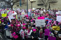 Women's March on Washington brings thousands of protesters | Daily Mail Online