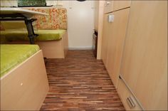 tab 020707 018 Tiny Homes, Campers, Tile Floor, Stairs, Flooring, Home Decor, Camper Trailers, Stairway, Decoration Home