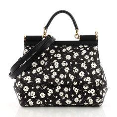 203c84458121 Dolce   Gabbana Sicily leather crossbody bag Dolce And Gabbana Handbags
