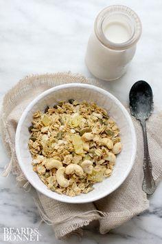 Tropical Granola (Gluten Free & Vegan) - Beard + Bonnet