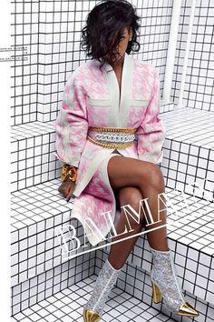 Rihanna For Balmain - Spring/Summer 2014 Campaign (Vogue.com UK)