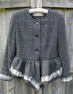 altered refashioned jacket | Regina Moore | Flickr