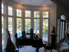 perfect window for a baby grand- or a christmas tree!