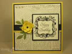 MOJO226 and Elementary Elegance by stampwithsandy - Cards and Paper Crafts at Splitcoaststampers