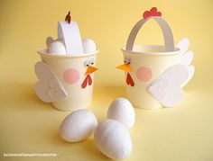:-D...Easter treat cups