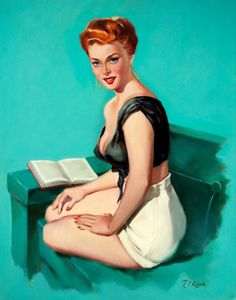 Red-Haired Pin-Up Reading by T.J. Kuck