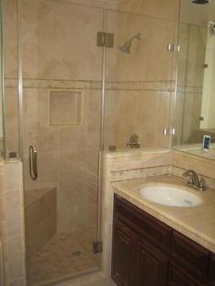 Change Tub To Shower With Least Amount Of Glass Frontage