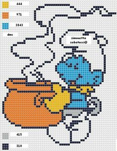 DeviantArt is the world's largest online social community for artists and art enthusiasts, allowing people to connect through the creation and sharing of art. Plastic Canvas Christmas, Plastic Canvas Crafts, Plastic Canvas Patterns, Cross Stitch Bookmarks, Cross Stitch Baby, Cross Stitch Patterns, Perler Bead Emoji, Perler Bead Art, Pixel Art Templates
