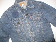 Levi's denim jacket/Vintage jean jacket/Men's two by BohoRain