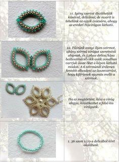 Šperky tvorby Manuály, návody Kolekcja WebUI: Sněženky - Orsina (Sněženka vzor)