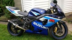 Welcome home baby, the newest edition to The garage in Dport!! #GSXR600