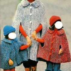 Professione Donna: Lavoro a maglia: Mantelle di lana