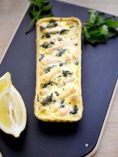 Tarte saumon et épinards : Recette de Tarte saumon et épinards - Marmiton