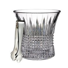 Waterford Lismore Diamond Ice Bucket with Tong