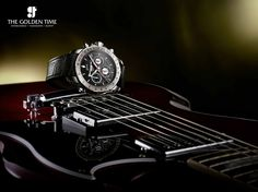 A new guitar-inspired watch for all music lovers our there! Coming Soon…  #Watches #TheGoldenTime #Ahmedabad