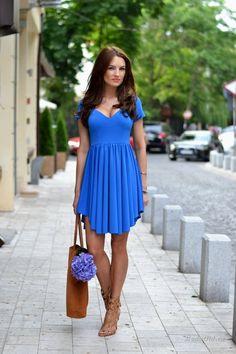 Уличная мода: Свежие образы от Алины Филипеску: летние наряды 2014 в деталях