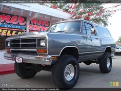 1987 Dodge Ramcharger, I've always loved these!