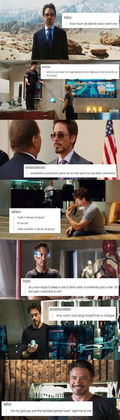 Tony Stark ladies and gentlemen