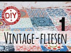 Selbst gemacht by Patricia Morgenthaler: DIY: Vintage-Fliesen selber machen