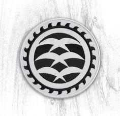 KOA MILL LOGO JIU JITSU PATCH    4 inch embroidered sew-on patch of our iconic blades logo. Perfect for your gi, backpack   #koamill #blades #patch #bjj #jiujitsu #snow #skate #surf #gi #lifestylebrand