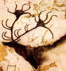 Great stag, Lascaux