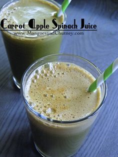 Global Juicing Day: Carrot Apple Spinach Juice