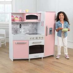 11 Favorite Kidkraft Modern Play Kitchen Big W Photos - Kitchen Design Diy Kids Kitchen, Kitchen Sets For Kids, Wooden Play Kitchen, Toy Kitchen, Kitchen Ideas, Cocina Kidkraft, Kidkraft Kitchen, Galley Style Kitchen, Kitchen Design