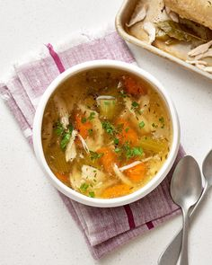 Recipe: Slow Cooker Whole Chicken Soup — Quick and Easy Weeknight Soups