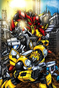 Rodimus and Bee my two favs